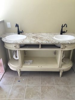 repurposed vanity